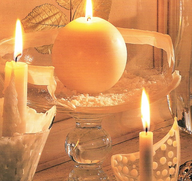bougies et d coration id e d co. Black Bedroom Furniture Sets. Home Design Ideas