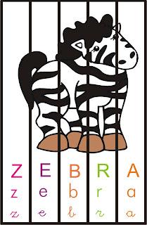 Mexe mexe zebra - Quebra-cabeça