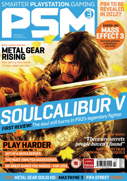 Playstation 3 Magazine- February 2012 (UK)