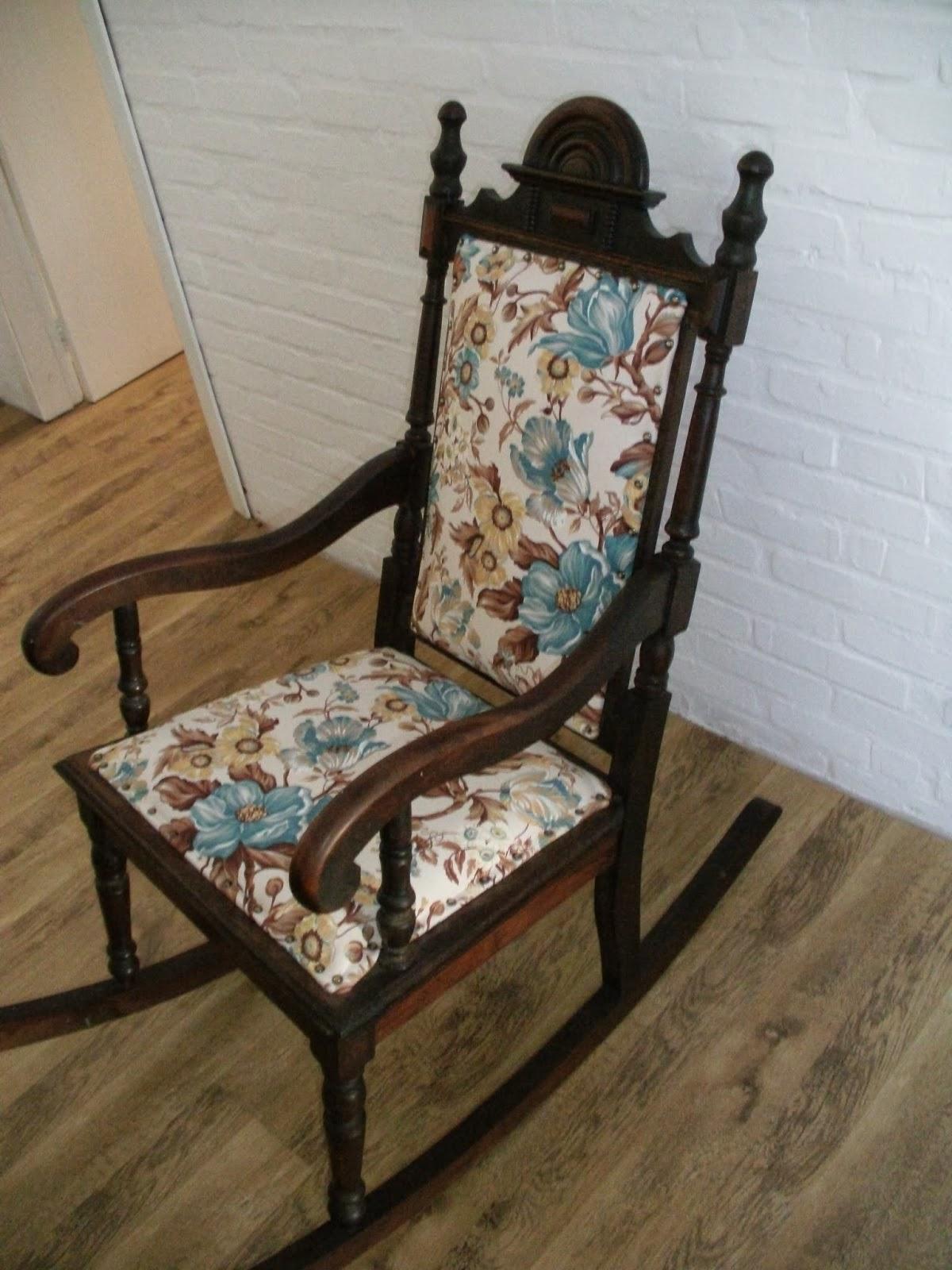 decorar sustentável: Cadeira de balanço reformada #614C30 1200x1600
