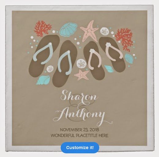 http://www.zazzle.com/romantic_beach_flip_flops_wedding_paper_napkins_taylorcorpnapkin-256387743048188770?rf=238883076893020836