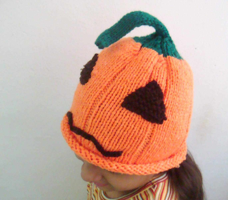 Faimas how to...: Pumpkin Hat Free Knitting Pattern