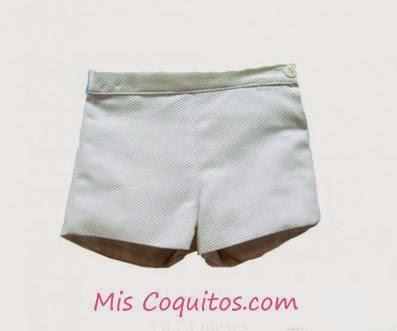 pantalon blanco bebe verano, moda infantil