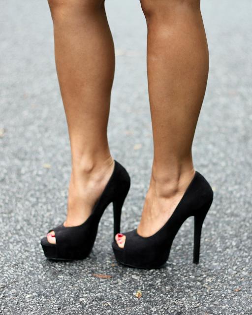 black pumps, black open toe pumps, black heels