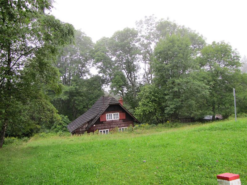 Domek przy Chacie Kmínek.