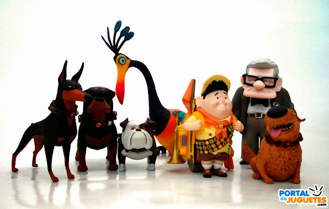 figuras up disney store set completo estados unidos