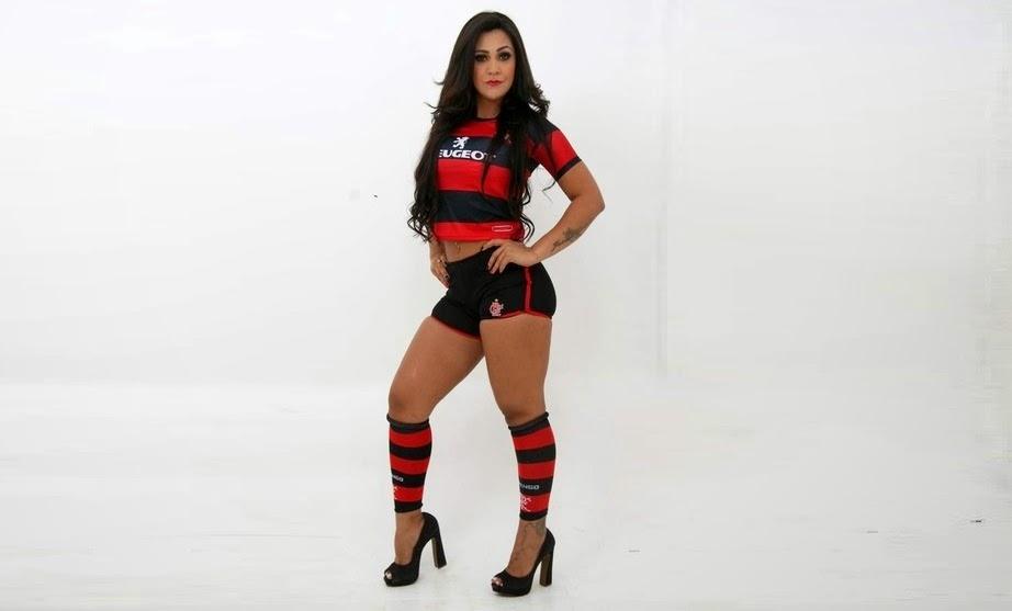 Tatiana Neves, Candidata a Musa do Brasileirão 2013 pelo Flamengo