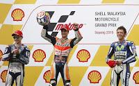 MOTO GP - Pedrosa venció en Malasia con caída de Márquez provocada por Rossi. Octava victoria de Zarco y Oliveira sigue impidiendo la coronación de Kent