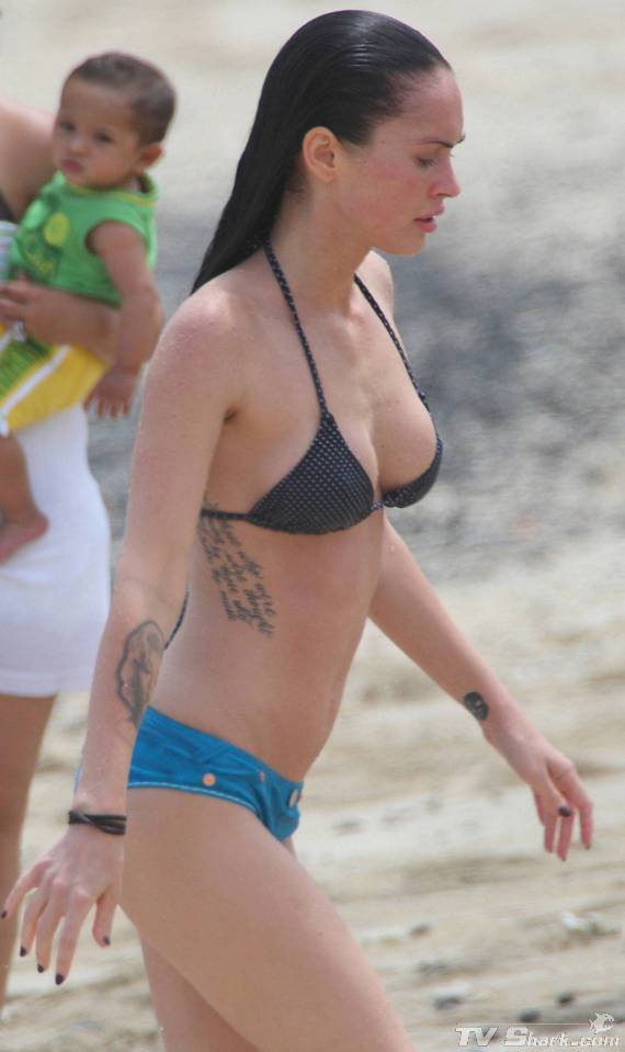 megan fox in bikini wallpaper Photo