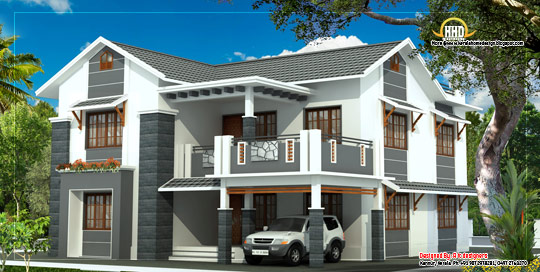 2 Storey House 260 Square Meter (2805 Sq. Ft.)  - February 2012