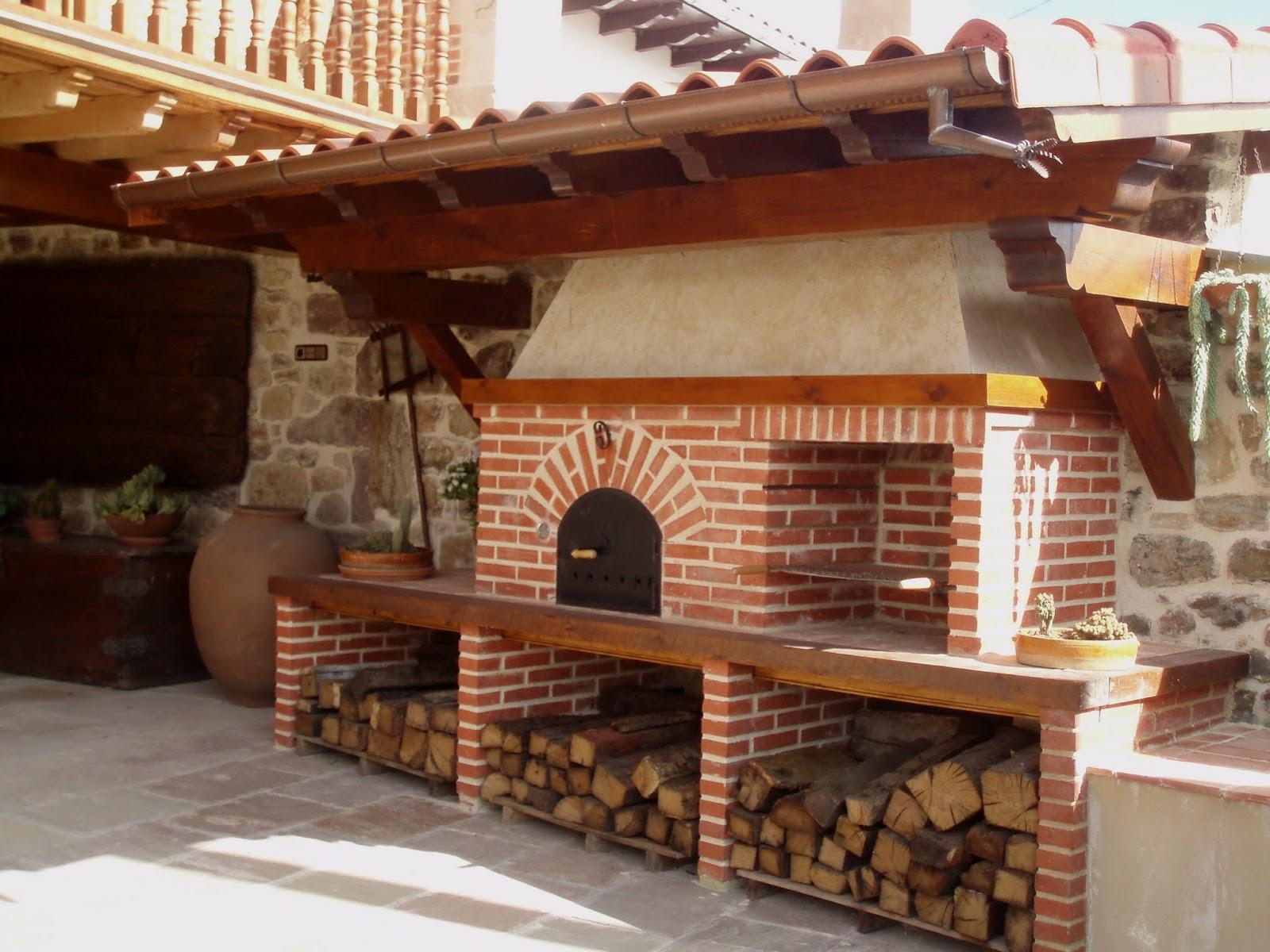 La fabrica de pereruela horno y barbacoa de jos antonio - Fotos de barbacoas rusticas ...