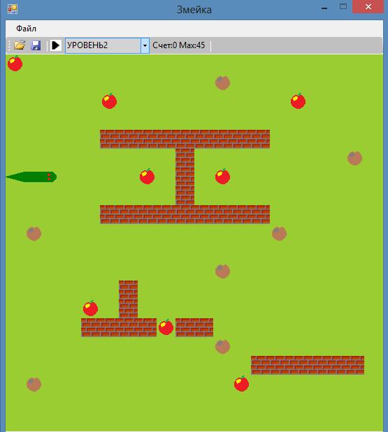 Курсовая по программированию на языке c Игра Змейка ООП