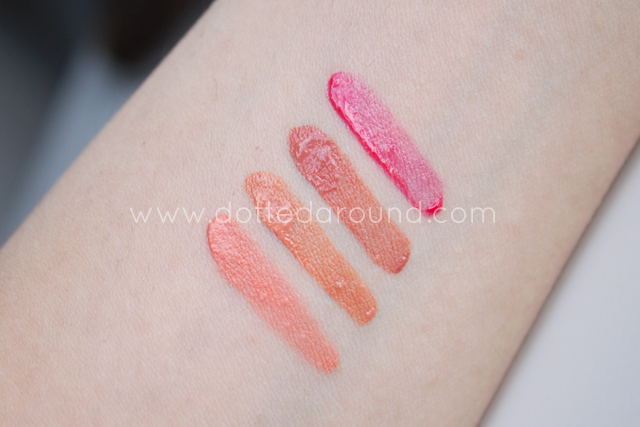 Nabla blush liquid tech swatch