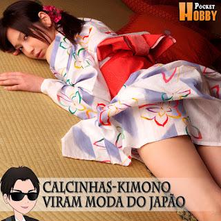 Pocket Hobby - www.pockethobby.com - Calcinhas Kimono Moda no Japão