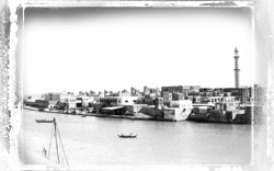 Dubai creek rare old photo