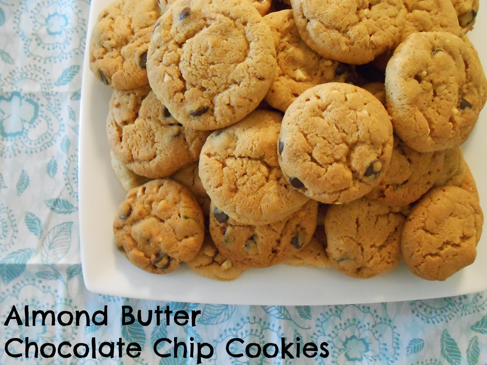 Beyond the Cookie Cutter: Almond Butter Chocolate Chip Cookies