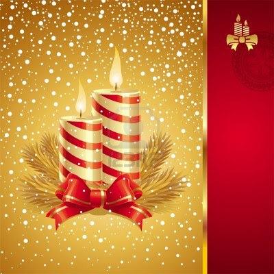 Reto Navidad en verano, semana 6, velas de Navidad