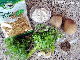 Chiftele de post cu soia ingrediente reteta