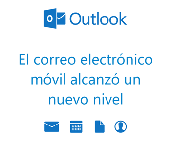 Nueva Aplicacion Microsoft Outlook para moviles