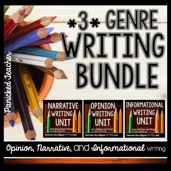 3 Genre Writing Bundle!