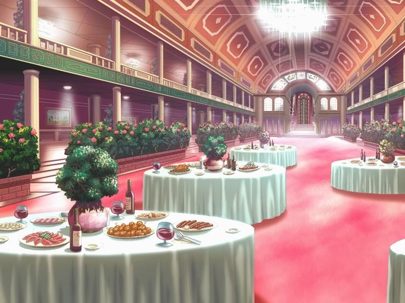 Restaurant Anime Background
