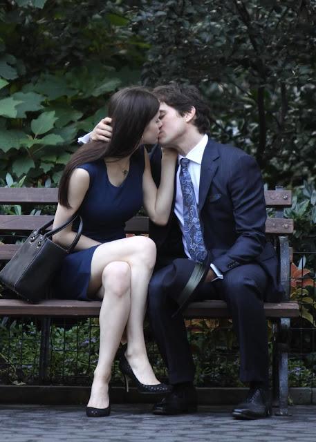 Alexandra Daddario And Matt Bomer