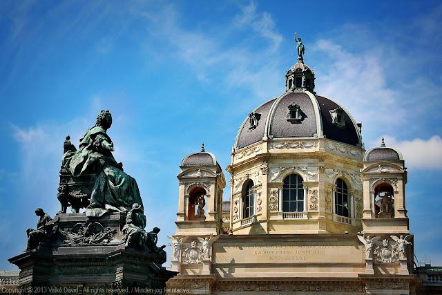 Mária Terézia tér - Bécs, Ausztria