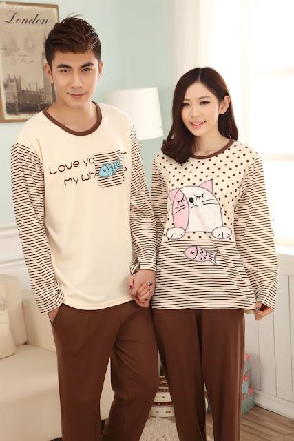 Model Baju Tidur Pasangan Pengantin