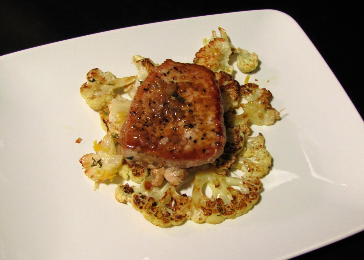 Smells Like Food in Here: Summer Herb-Stuffed Pork Chops