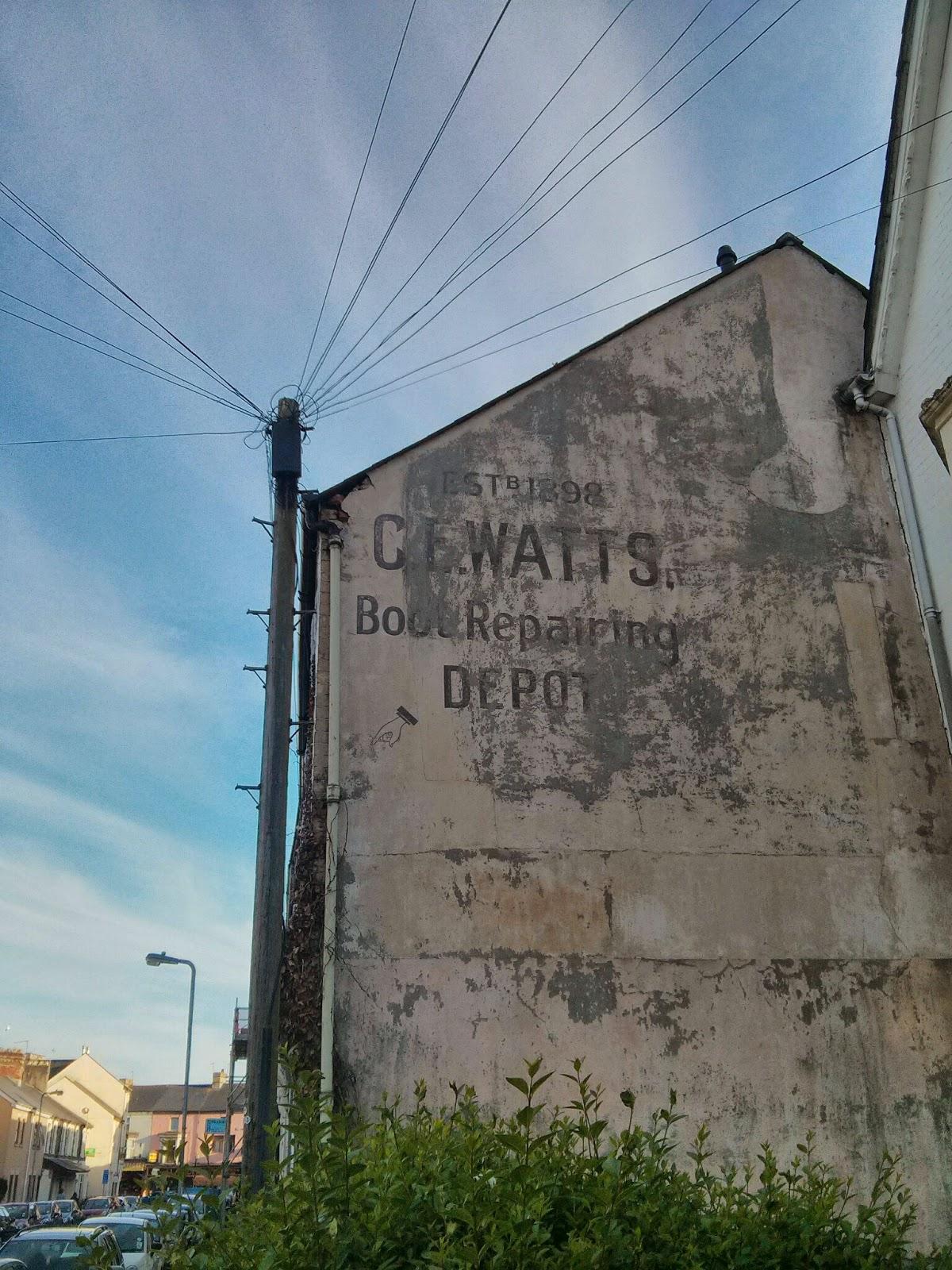 'EST.B. 1898 C.E. WATTS, Book Repairing DEPOT'