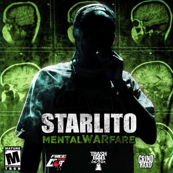 Starlito - Mental Warfare Cover