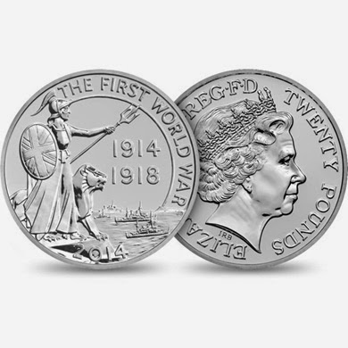 New 999 Silver UK Coin