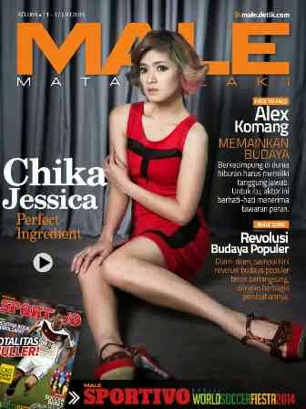 Download Gratis Majalah MALE Mata Lelaki Edisi 89 Cover Model Chika Jessika