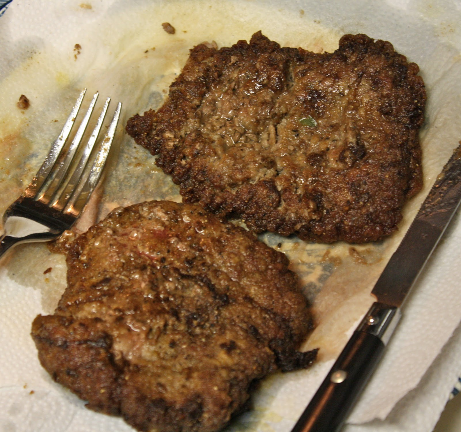 the compulsive culinaire: Fried Round Steak