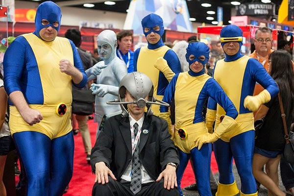 Clasic X-Men Cosplay