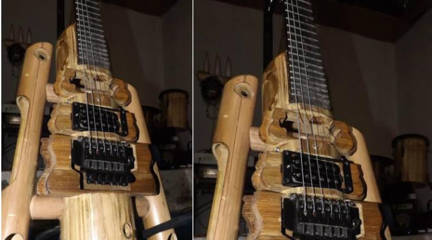 Gitar Bambu Unik Virageawie Asal Bandung