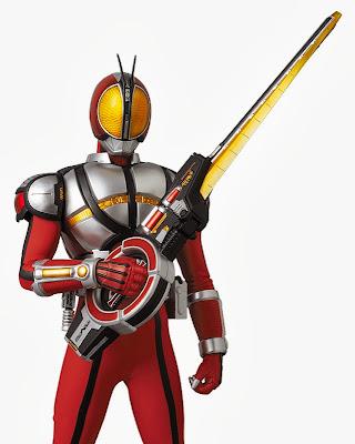 "Medicom 12"" RAH DX Kamen Rider 555 (Faiz) Blaster Form Figure"