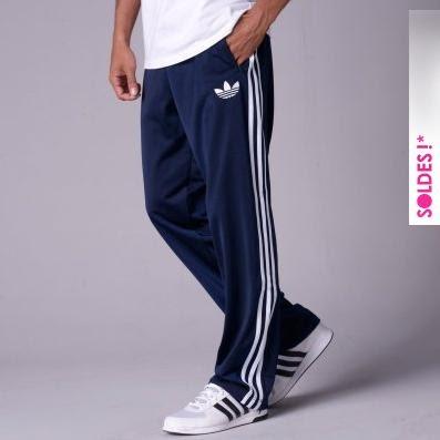 pantalon adidas firebird marine bandes blanches soldes 53e4b23af5e