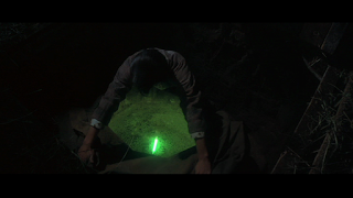 It's not going to be confusing to have a green glowing thing from Krypton, right?