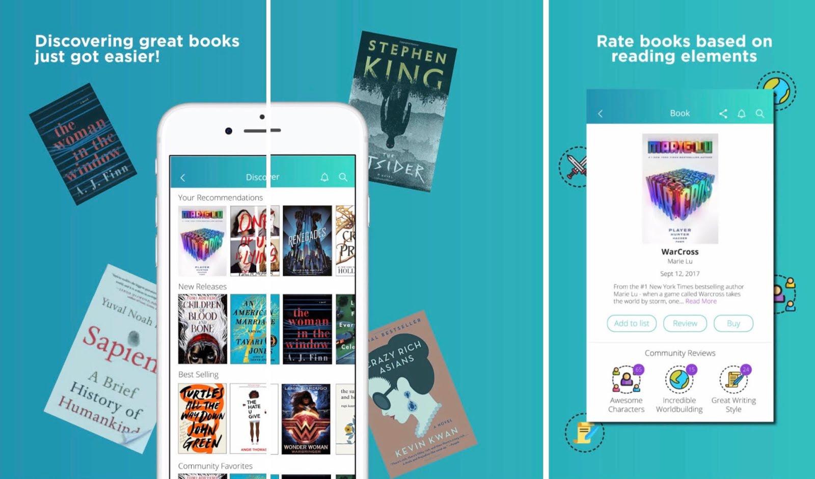 Descarga la nueva app para libros