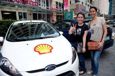 Shell FuelSave Mommy Bloggers Driving Challenge