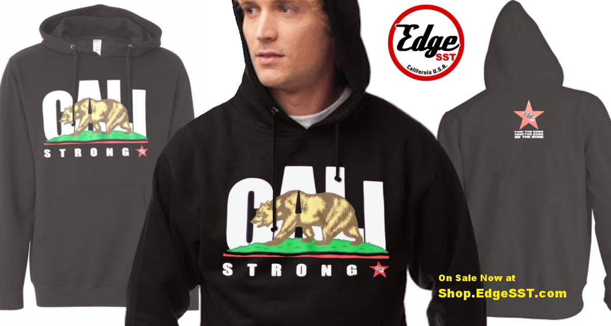CALI Strong Hoodie Pullover