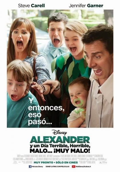 ver Alexander y un dia terrible, horrible, malo… ¡muy malo! (2014)