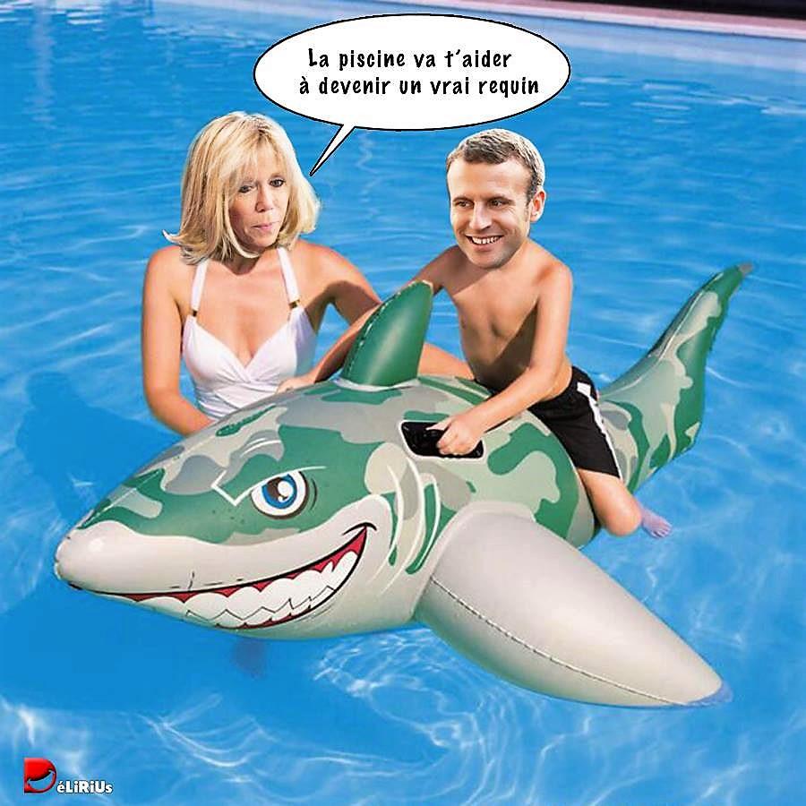 On veut une piscine à Brégançon