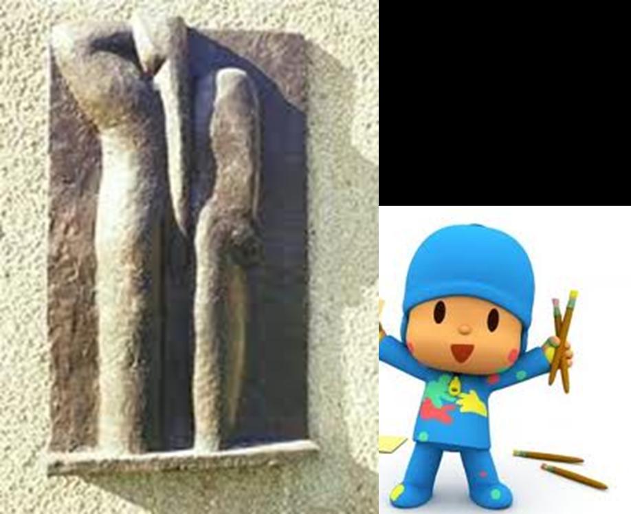 contoh gambar arca timbulan