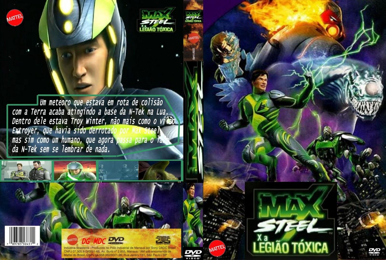 Max Steel X A Legi  O Toxica