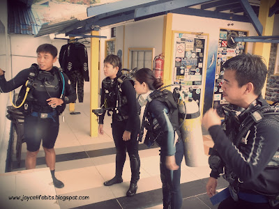 PADI open water course advice practical tips scared how to do phobia