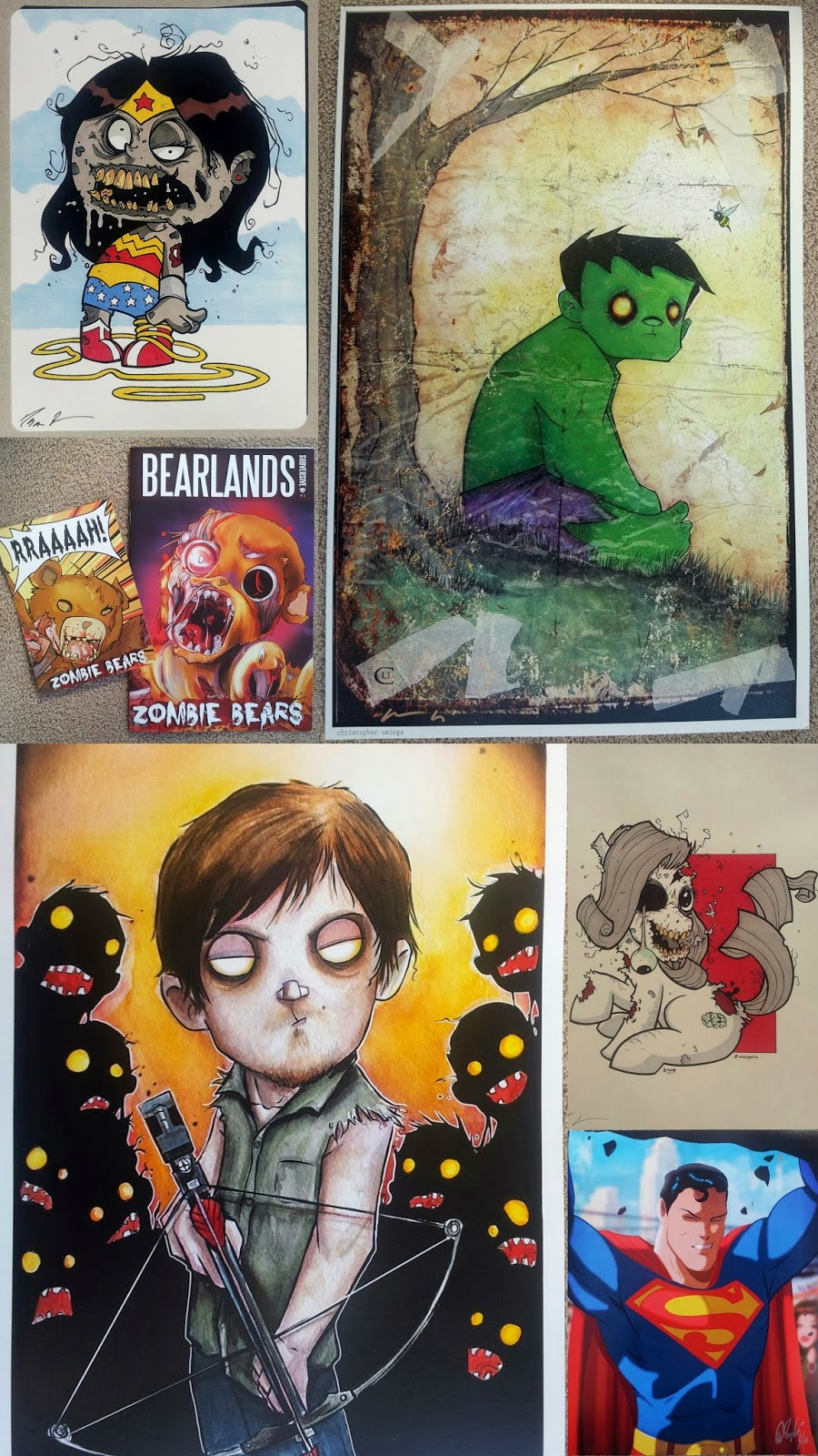 Whoopidooings: Rocking my World Friday - Comicon goodies