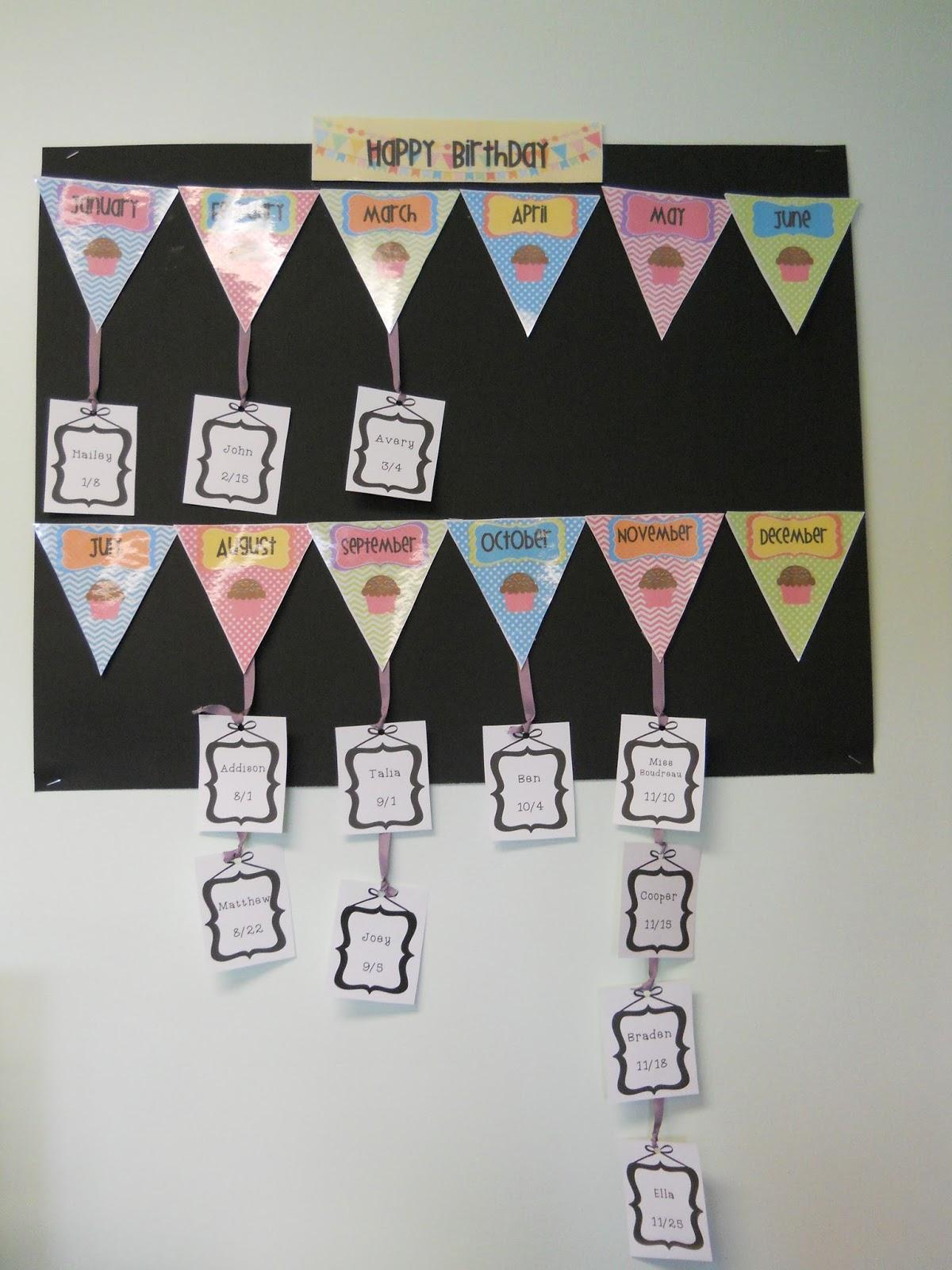 Golocal4health My Kindergarten Classroom