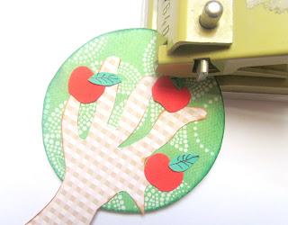 apple tree gift tag tutorial